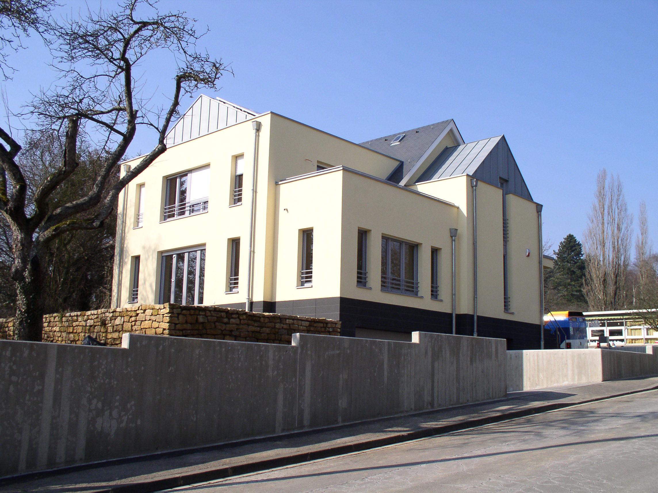 Nouvelle construction luxembourg wirtz architecte for Architecte luxembourg