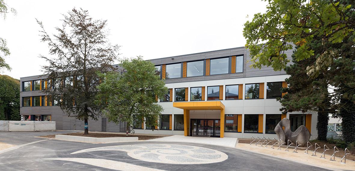 Lyc e michel lucius luxembourg wirtz architecte for Architecte luxembourg