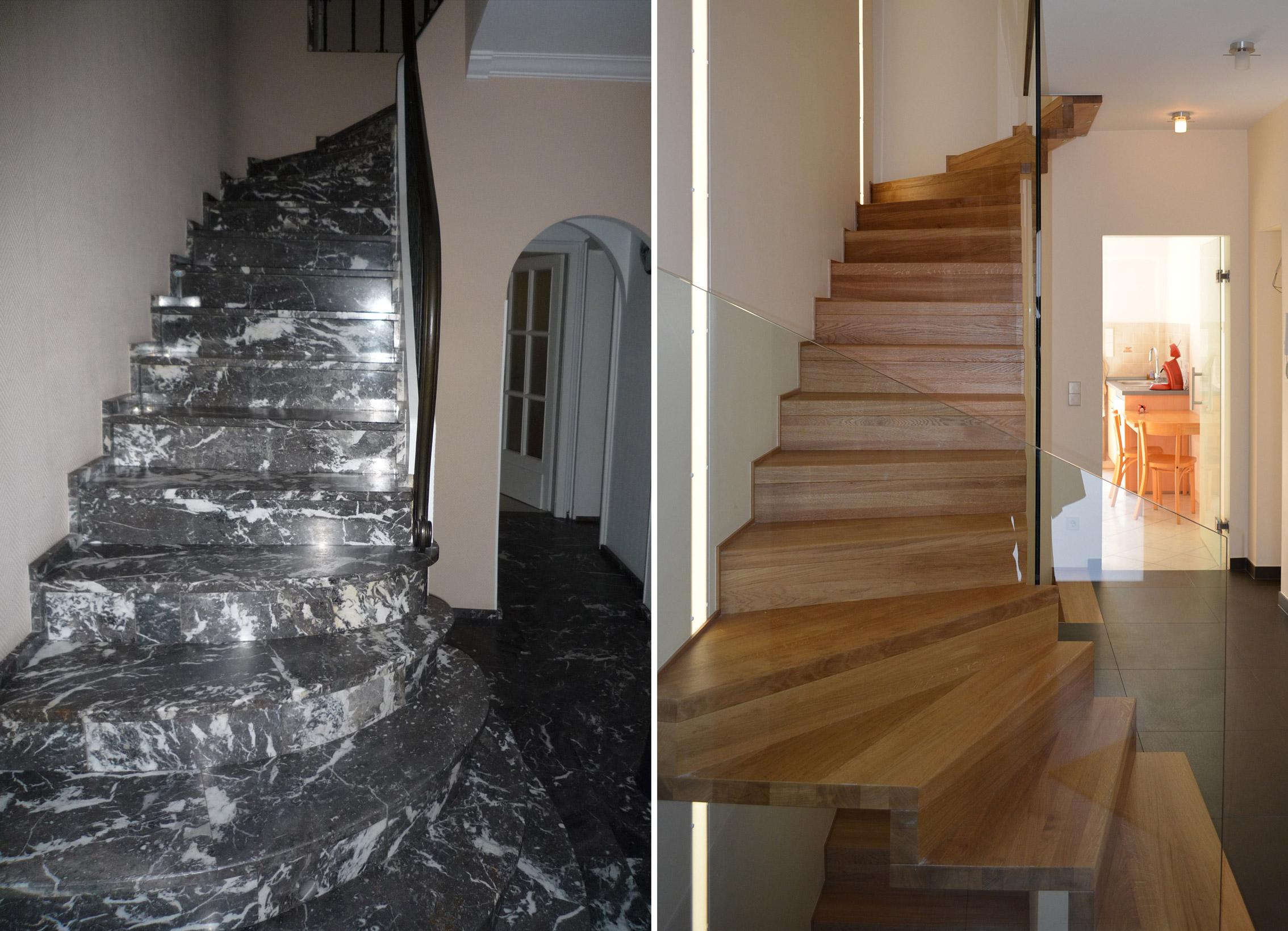 transformation d 39 une maison luxembourg wirtz architecte. Black Bedroom Furniture Sets. Home Design Ideas